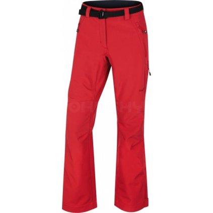 Dámské outdoorové kalhoty HUSKY  Kresi L červená  + Sleva 5% - zadej v košíku kód: SLEVA5