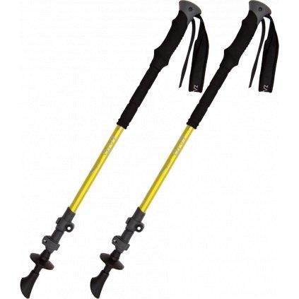 Trekingové hole ZAJO Trekking Poles ALU Pro žlutá  + Sleva 5% - zadej v košíku kód: SLEVA5