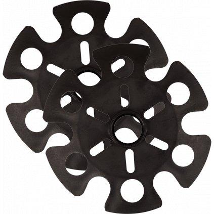 Náhradní koncovky Trekking Poles Accessories 2 černá  + Sleva 5% - zadej v košíku kód: SLEVA5