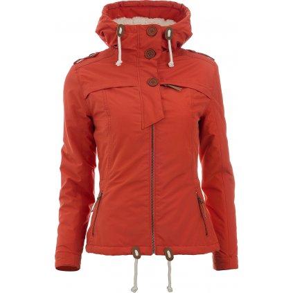 Dámská bunda WOOX Ventus Calida Red Clay Chica  + Sleva 5% - zadej v košíku kód: SLEVA5