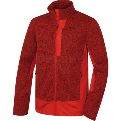 Pánská fleecová bunda   Alan M sv. červená (Velikost XXL)