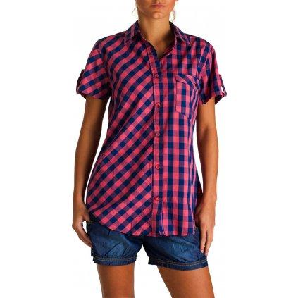 Dámská košile Vivid Shirt Pink (Velikost 44)