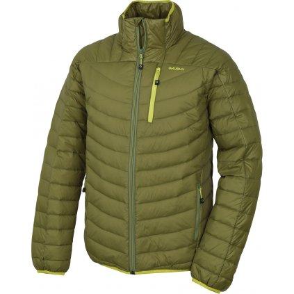 Pánská péřová bunda HUSKY  Dyan M olivová  + Sleva 5% - zadej v košíku kód: SLEVA5