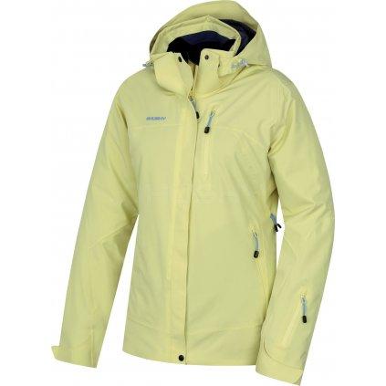 Dámská lyžařská bunda HUSKY  Gairi L sv. žlutá  + Sleva 5% - zadej v košíku kód: SLEVA5