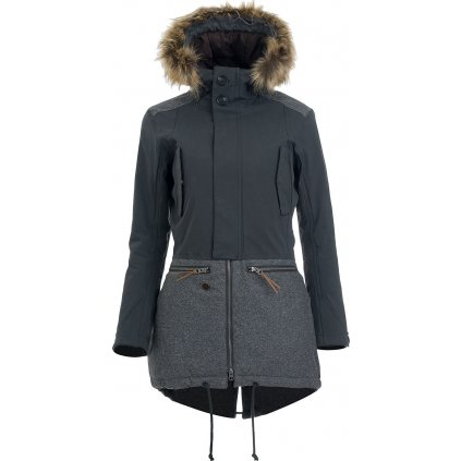 Dámská zimní bunda WOOX Lanula Asphalt Chica  + Sleva 5% - zadej v košíku kód: SLEVA5