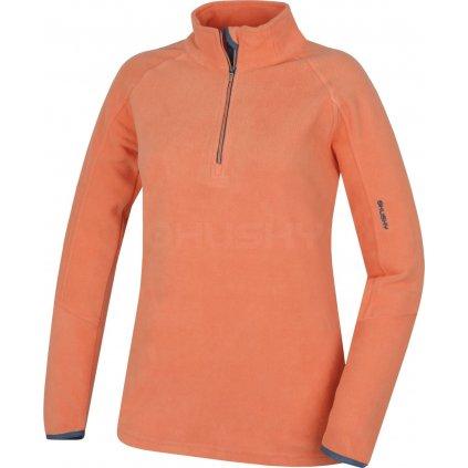Dámská mikina  HUSKY  Ander L oranžová  + Sleva 5% - zadej v košíku kód: SLEVA5