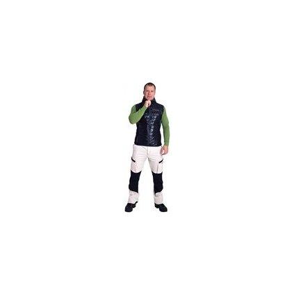 BRENNER pánská zateplená vesta s kapucí (Barva černá, Velikost XXL)
