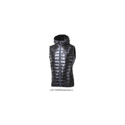 Pánská zateplená vesta s kapucí PROGRESS Brenner  + Sleva 5% - zadej v košíku kód: SLEVA5