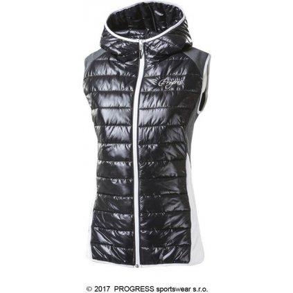 Dámská zateplená vesta s kapucí PROGRESS Misurina  + Sleva 5% - zadej v košíku kód: SLEVA5