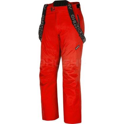 Pánské lyžařské kalhoty  Meng červená (Velikost XXL)
