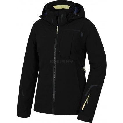 Dámská lyžařská bunda HUSKY Gerbis L černá  + Sleva 5% - zadej v košíku kód: SLEVA5