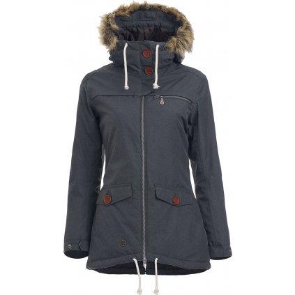 Dámská zimní bunda WOOX Lanula Dark Chica  + Sleva 5% - zadej v košíku kód: SLEVA5