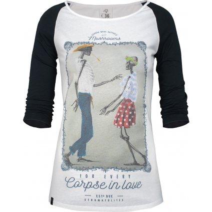 Dámské tričko Corpse in Love (Velikost 46)