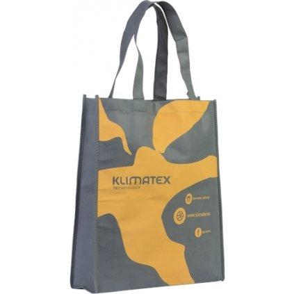 Textilní taška Klimatex UNI šedá (Barva žlutá)