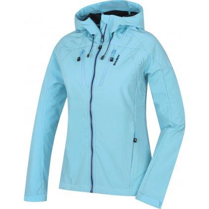 Dámská softshellová bunda HUSKY Summy L sv. modrá  + Sleva 5% - zadej v košíku kód: SLEVA5