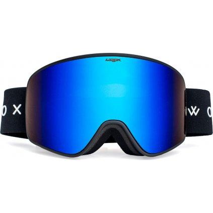 Lyžařské brýle WOOX Opticus Temporarius Dark/Blu  + Sleva 5% - zadej v košíku kód: SLEVA5