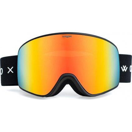 Lyžařské brýle WOOX Opticus Temporarius Dark/Re  + Sleva 5% - zadej v košíku kód: SLEVA5