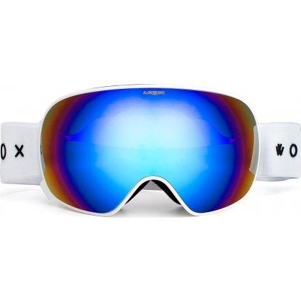 Lyžařské brýle WOOX Opticus Opulentus White/Blu  + Sleva 5% - zadej v košíku kód: SLEVA5