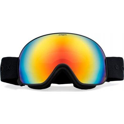 Lyžařské brýle WOOX Opticus Opulentus Dark/Re  + Sleva 5% - zadej v košíku kód: SLEVA5