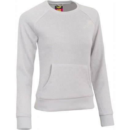 Dámské triko WOOX Tune Fleece Sweatshirt Ash  + Sleva 5% - zadej v košíku kód: SLEVA5