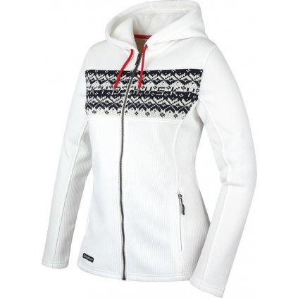 Dámský svetr  HUSKY Klaider L bílá  + Sleva 5% - zadej v košíku kód: SLEVA5