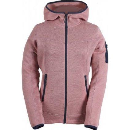 Dámský svetr s kapucí a zipem(flatfleece) 2117 of Sweden Heden, barva: 056  + Sleva 5% - zadej v košíku kód: SLEVA5