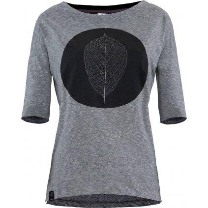 Dámské tričko WOOX Folium Ater  + Sleva 5% - zadej v košíku kód: SLEVA5