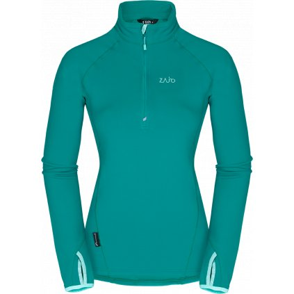 Dámská bunda ZAJO Anniviers W Pull zelená  + Sleva 5% - zadej v košíku kód: SLEVA5