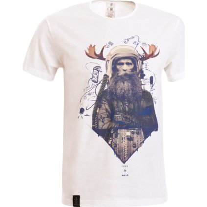 Pánské tričko WOOX Veteranus Fortis Alba  + Sleva 5% - zadej v košíku kód: SLEVA5