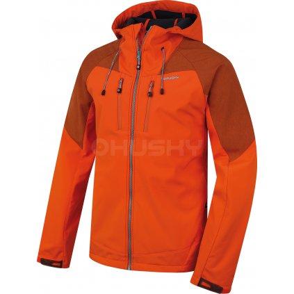 Pánská softshell bunda HUSKY  Summy M oranžová  + Sleva 5% - zadej v košíku kód: SLEVA5