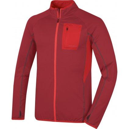 Pánská mikina HUSKY  Tarr zip M tm. červená  + Sleva 5% - zadej v košíku kód: SLEVA5