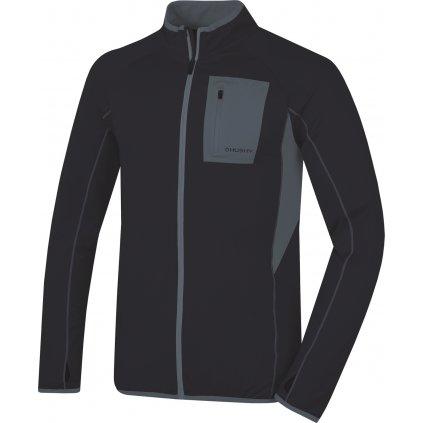 Pánská mikina HUSKY  Tarr zip M černá  + Sleva 5% - zadej v košíku kód: SLEVA5