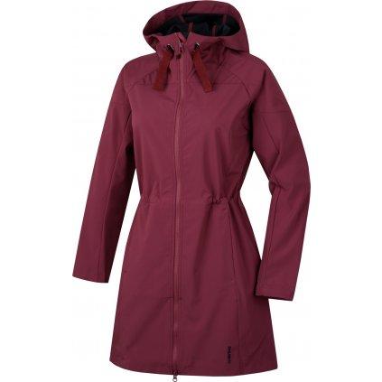 Dámský softshellový kabátek  HUSKY Sara L vínová  + Sleva 5% - zadej v košíku kód: SLEVA5