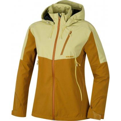 Dámská outdoor bunda HUSKY Sauri L sv. žlutá  + Sleva 5% - zadej v košíku kód: SLEVA5