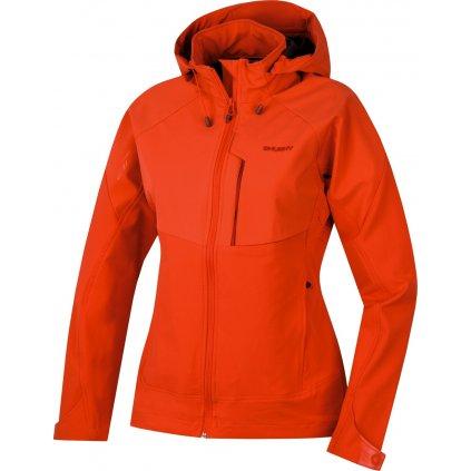Dámská softshellová bunda HUSKY Seeta L sv. červená  + Sleva 5% - zadej v košíku kód: SLEVA5