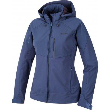 Dámská softshellová bunda HUSKY Seeta L modrofialová  + Sleva 5% - zadej v košíku kód: SLEVA5