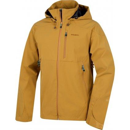Pánská outdoor bunda HUSKY  Sauri M okrová  + Sleva 5% - zadej v košíku kód: SLEVA5