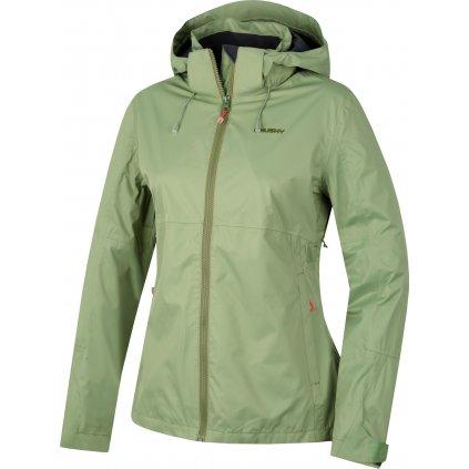 Dámská nepromokavá outdoorová bunda HUSKY Nelory L olivová