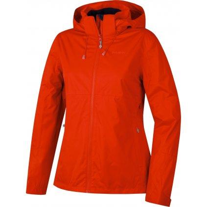 Dámská nepromokavá outdoorová bunda HUSKY Nelory L červená