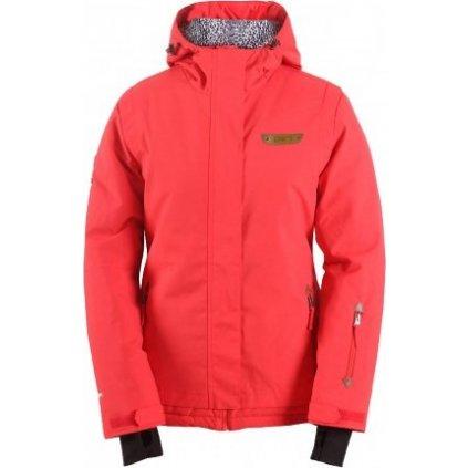 Dámská lyžařská bunda 2117 of Sweden Sirges, barva: červená