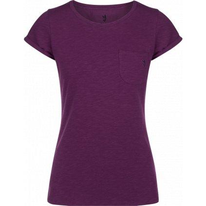Dámské tričko ZAJO Mari W T-shirt SS fialová