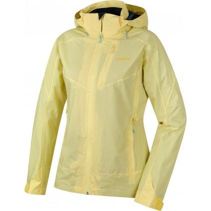 Dámská nepromokavá outdoorová bunda HUSKY Nally L sv. žlutá