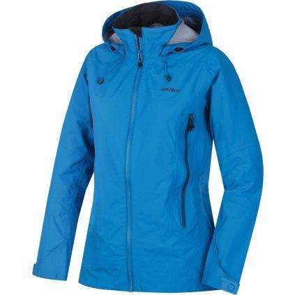 Dámská nepromokavá outdoorová bunda HUSKY Nakron L modrá