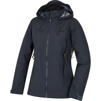 Dámská nepromokavá outdoorová bunda HUSKY Nakron L černý mentol