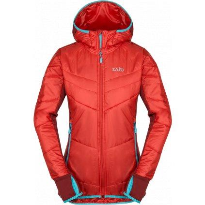 Dámská bunda Rossa W Jkt rudá