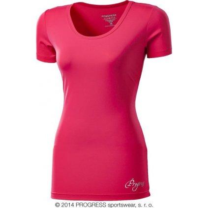 Dámské sportovní fitness tričko PROGRESS Vidala