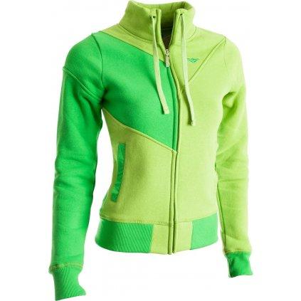 Dámská mikina WOOX Infinity Sweatshirt Green