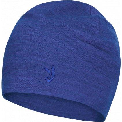 Ikoo Kids Merino Beanie modrá
