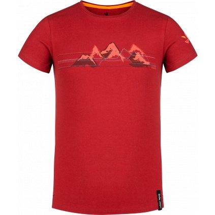 Bormio Kids T-shirt SS rudá