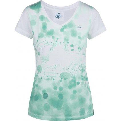 Dámské triko s krátkým rukávem LOAP Byblosa bílá